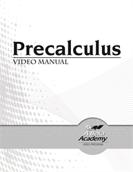 Precalculus Video Manual