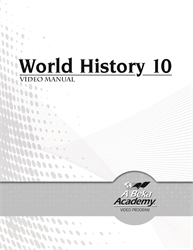 World History 10 Video Manual
