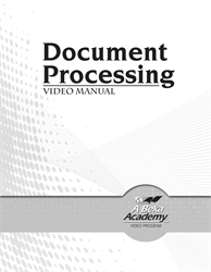 Document Processing Video Manual