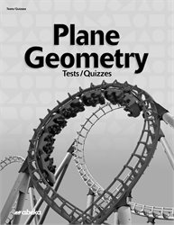Plane Geometry Test and Quiz Book