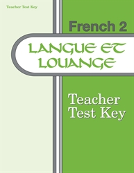 French 2 Test Key