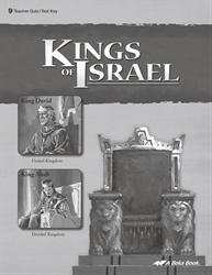Kings of Israel Quiz and Test Key