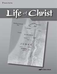 Life of Christ Test Key