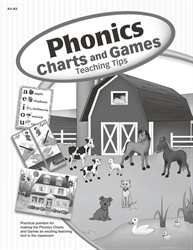 Phonics Charts and Games Practical Tips Book (Replacement)