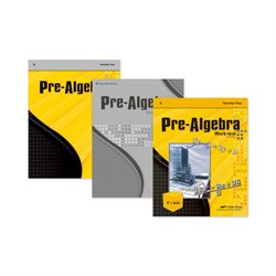 Prealgebra Video Teacher Kit