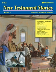 New Testament Stories Series 1 Flash-a-Card Bible Stories