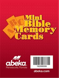 Mini ABC Bible Memory Cards