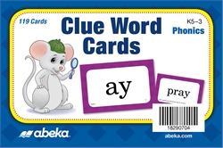 Clue Word Cards