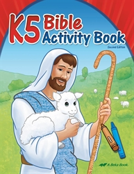 K5 Bible Activity Book  (Unbound)