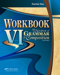 Workbook VI for Handbook of Grammar and Composition Key