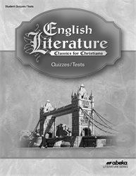 English Literature Quiz and Test Book