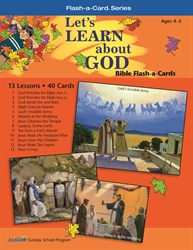 Let's Learn About God Beginner Bible Lesson Guide