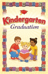 K Graduation Program Cover Style A Children (Package of 25)