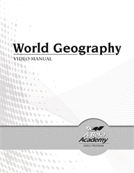 World Geography Video Manual