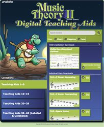 Music Theory II Digital Teaching Aids