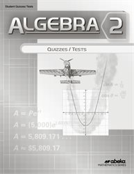 Algebra 2 Quiz and Test Book