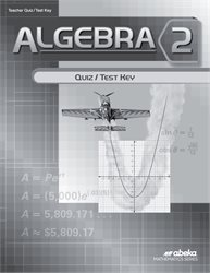 Algebra 2 Quiz and Test Key