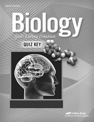 Biology Quiz Key