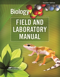 Biology Field and Laboratory Manual Teacher Edition