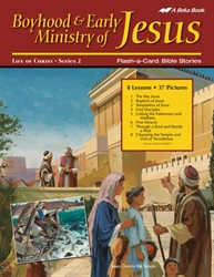 Boyhood and Early Ministry of Jesus  Flash-a-Card Bible Stories