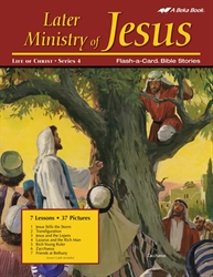 Later Ministry of Jesus Flash-a-Card Bible Stories