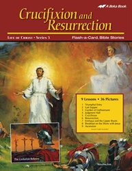 Crucifixion and Resurrection Flash-a-Card Bible Stories