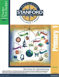 Stanford 10 Practice Test Direct.—Level PRIM 1