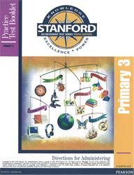 Stanford 10 Practice Test Direct.—Level PRIM 3