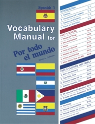 Spanish 1 Vocabulary Manual
