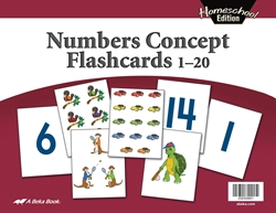 Homeschool Numbers Concept Flashcards