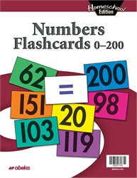 Homeschool Numbers Flashcards