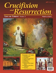 Crucifixion and Resurrection Flash-a-Card