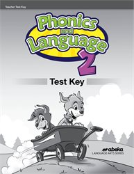Phonics and Language 2 Test Key—New