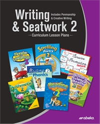 Writing and Seatwork 2 Curriculum Lesson Plans (Cursive)