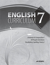 English 7 Curriculum