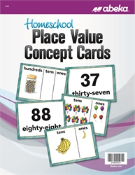 Homeschool Place Value Concept Cards