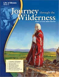 Journey through the Wilderness Flash-a-Card Bible Stories