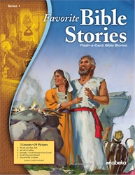 Favorite Bible Stories Series 1 Flash-a-Card Bible Stories