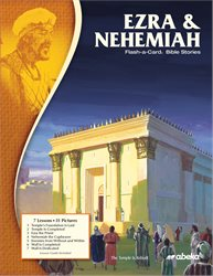 Ezra and Nehemiah Flash-a-Card Bible Stories—New