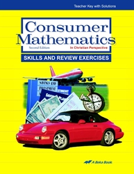 Consumer Mathematics Skills and Review Exercises Teacher Key