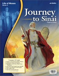 Journey to Sinai Flash-a-Card