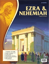Ezra and Nehemiah Flash-a-Card