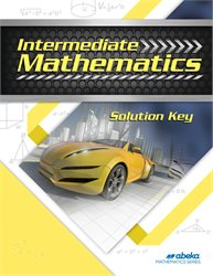 Intermediate Mathematics Solution Key