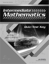 Intermediate Mathematics Quiz and Test Key—New