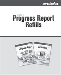Grade 1 Homeschool Progress Report Refills