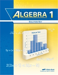 Algebra 1 Solution Key
