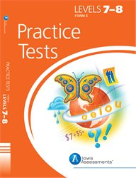 ITBS Practice Tests—Level 7, 8—Form E