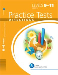 ITBS Practice Test Directions—Level 9-11 —Form E