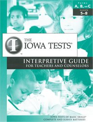 Interpretive Guide—Teacher/Counselor—Level 5/6-8—Form E