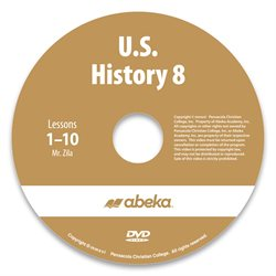 U.S. History 8 DVD Monthly Rental